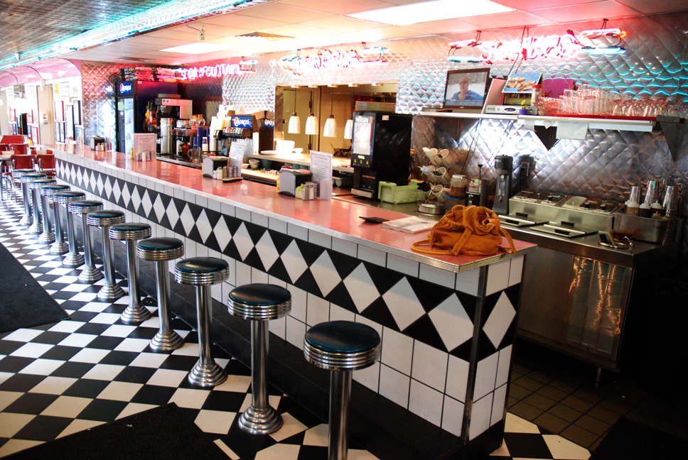 Business spotlight with a retro decor troy s diner