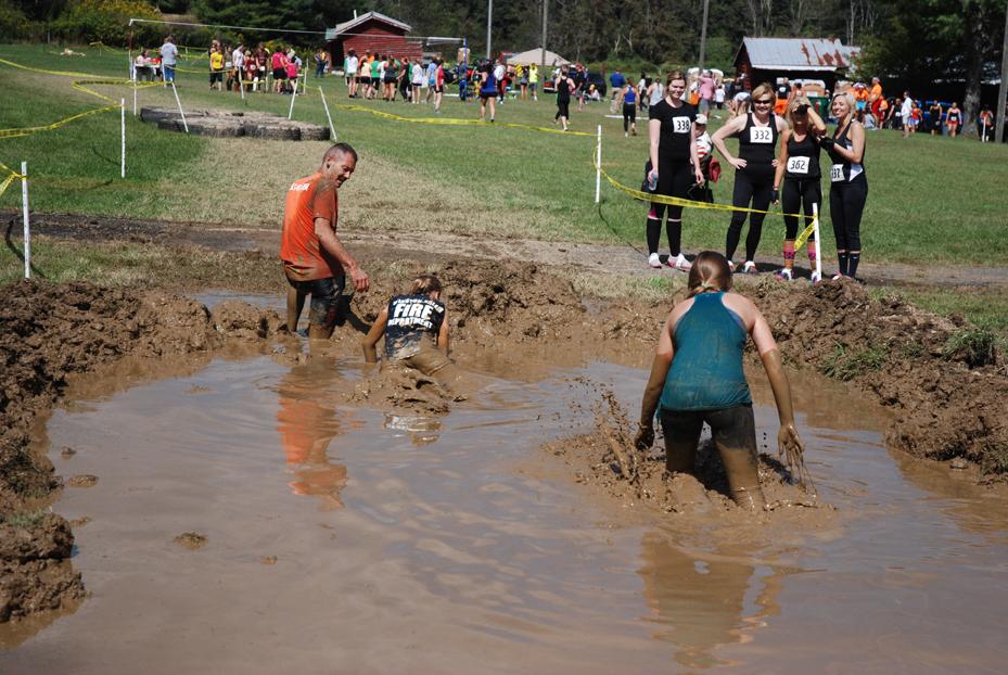 Just a little bit muddy