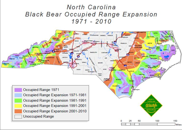 NC Wildlife Resources Commission Biologist: 2012 Black Bear