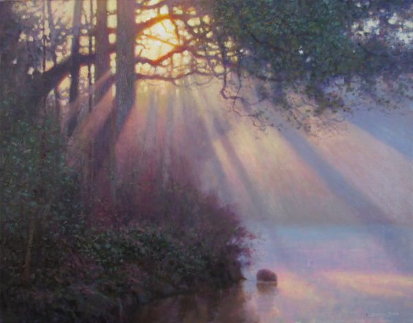 Jeremy Sams_I saw the light_24x30_acrylic
