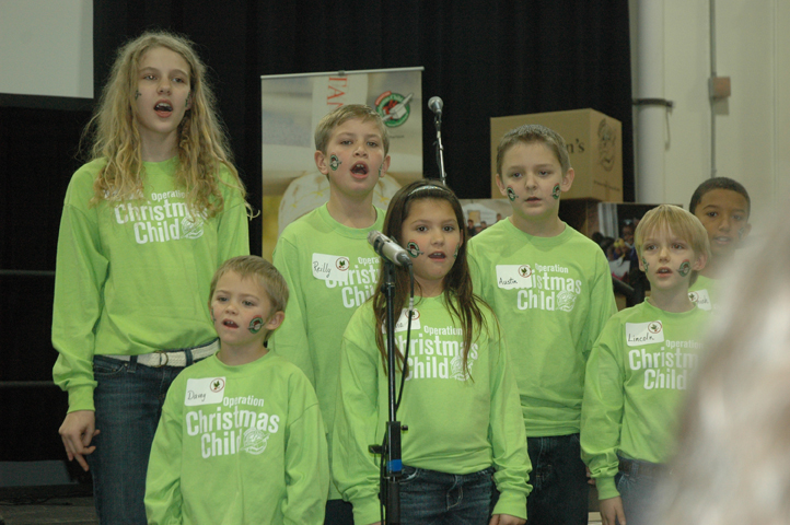 The Operation Christmas Child Choir