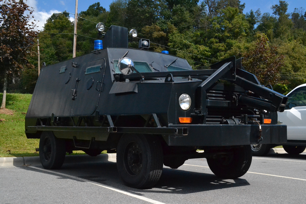Watauga County Sheriff S Office Receives New Tool 1980s Armored