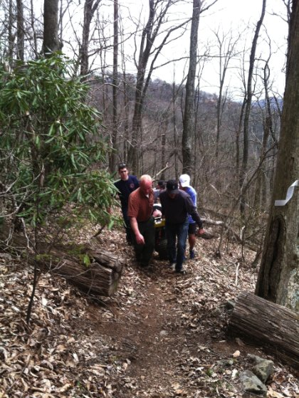 Blowing Rock Fire Police And Watauga Medics Rescue Ill Male Hiking