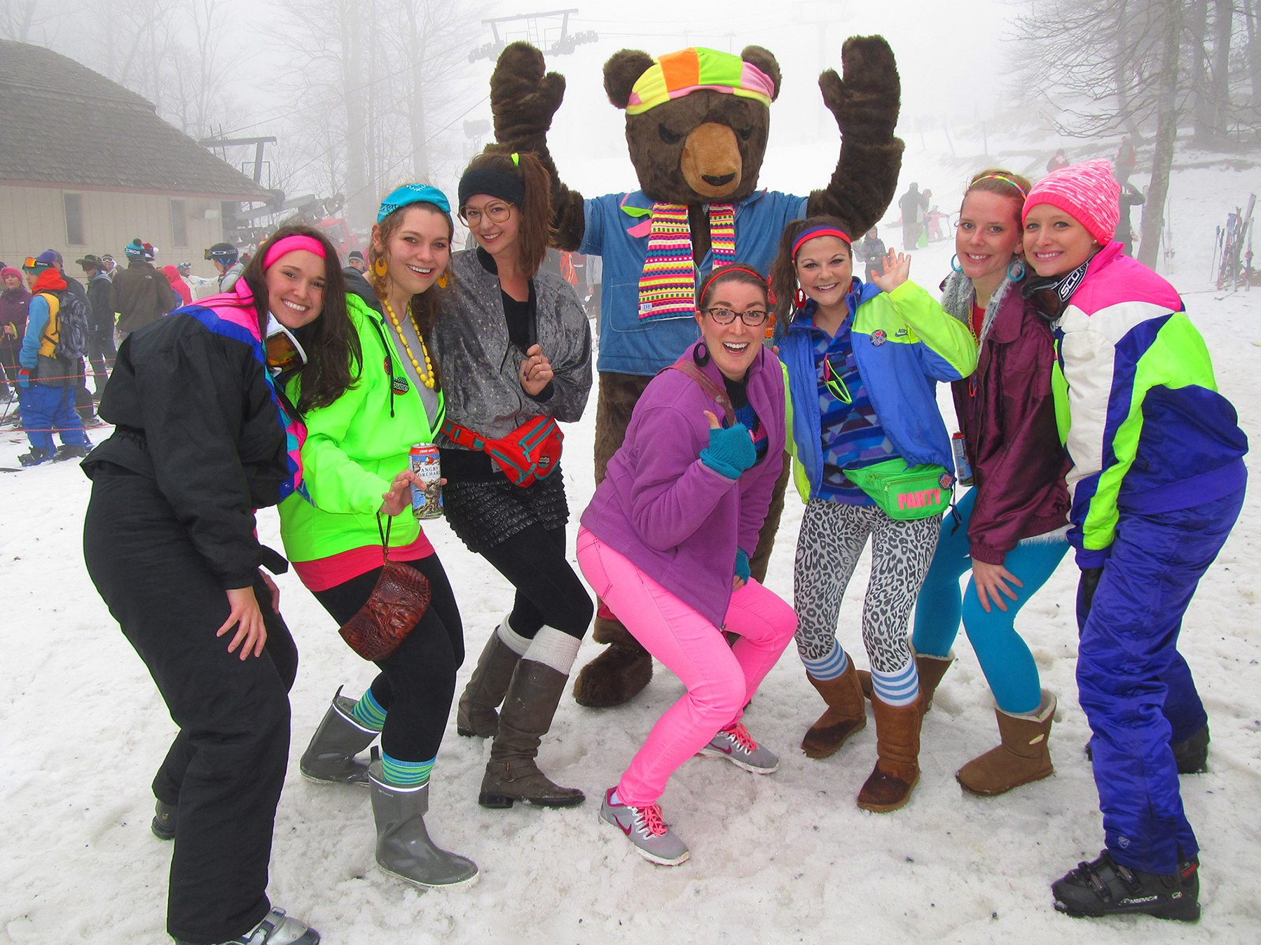 Totally 80s Retro Ski Weekend At Beech Mountain To Be