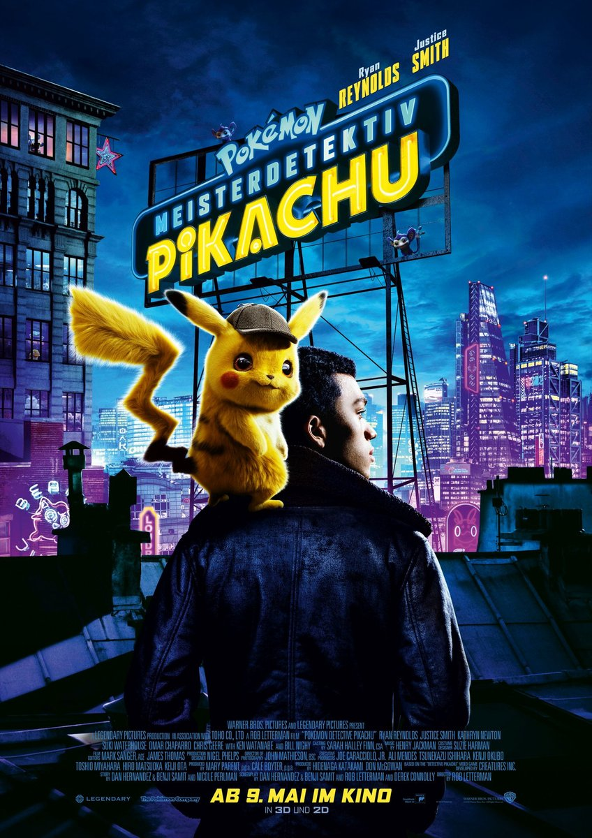 Movie Review:'Pokémon: Detective Pikachu' Cross This Off Your ...