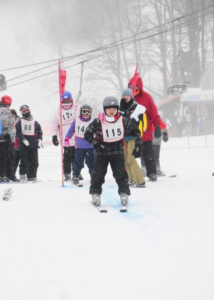 Special Olympics of North Carolina Alpine Skiing and Snowboarding at Appalachian Ski Mountain on Jan. 3, 2016. Photo by Josh Easterling.