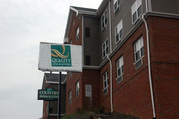 Recently, the Best Western sign along U.S. 421 in Boone was covered with a Quality Inn & Suites banner.